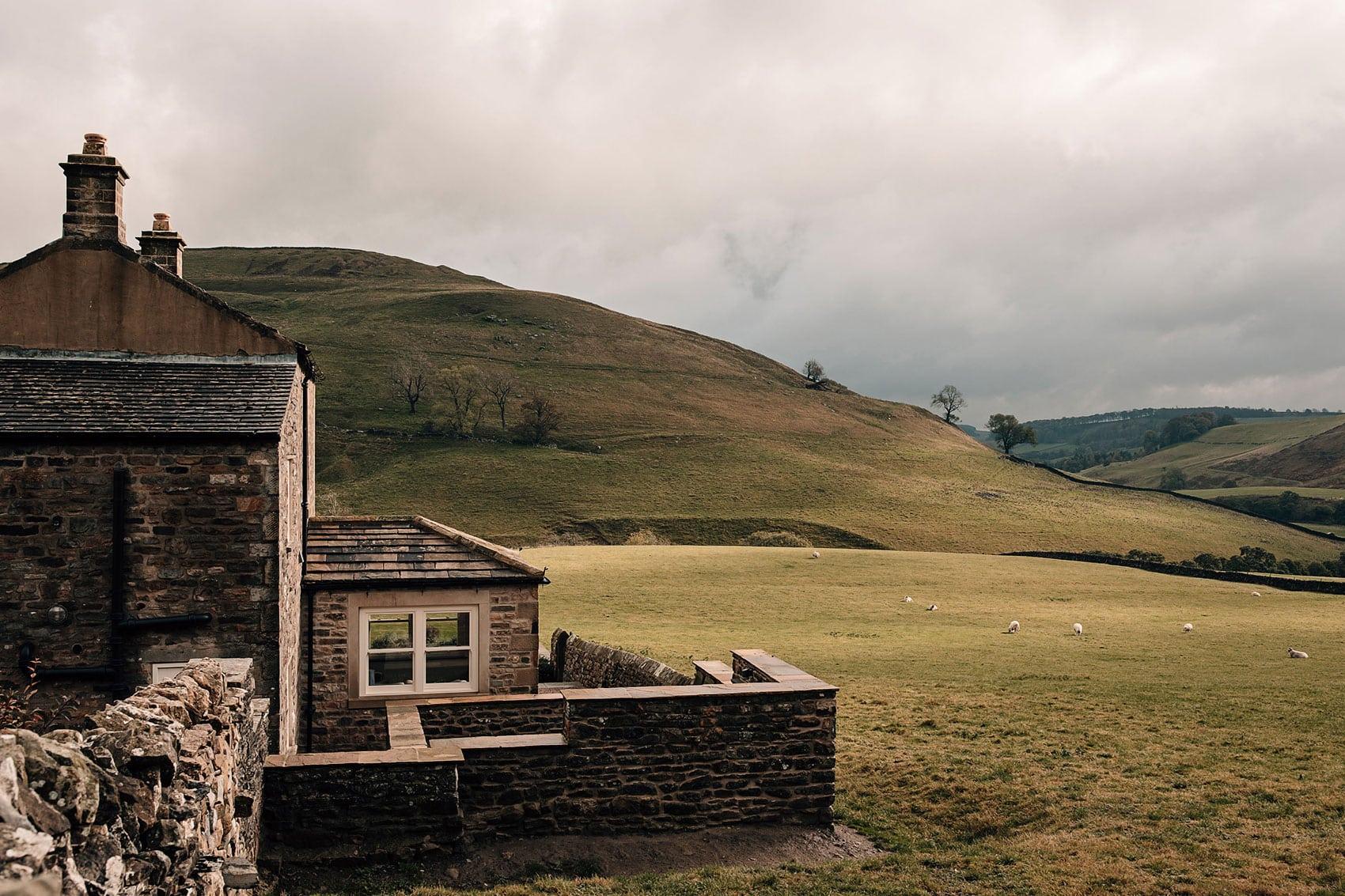 countryside intimate wedding