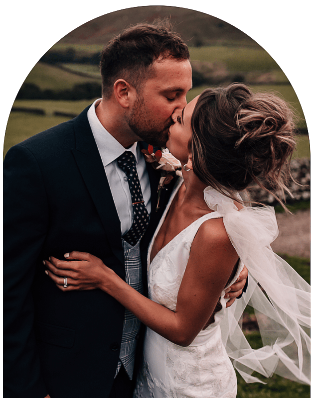 elopement wedding photographer bride and groom