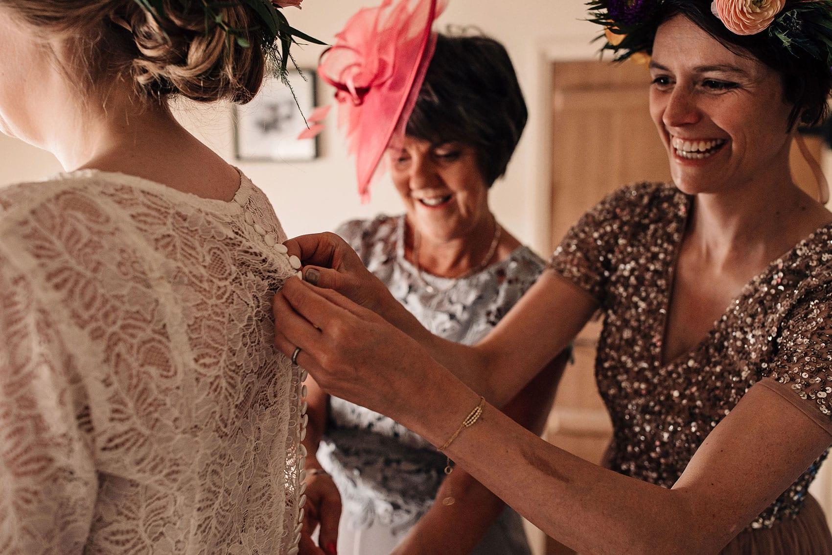 festival wedding photography Yorkshire