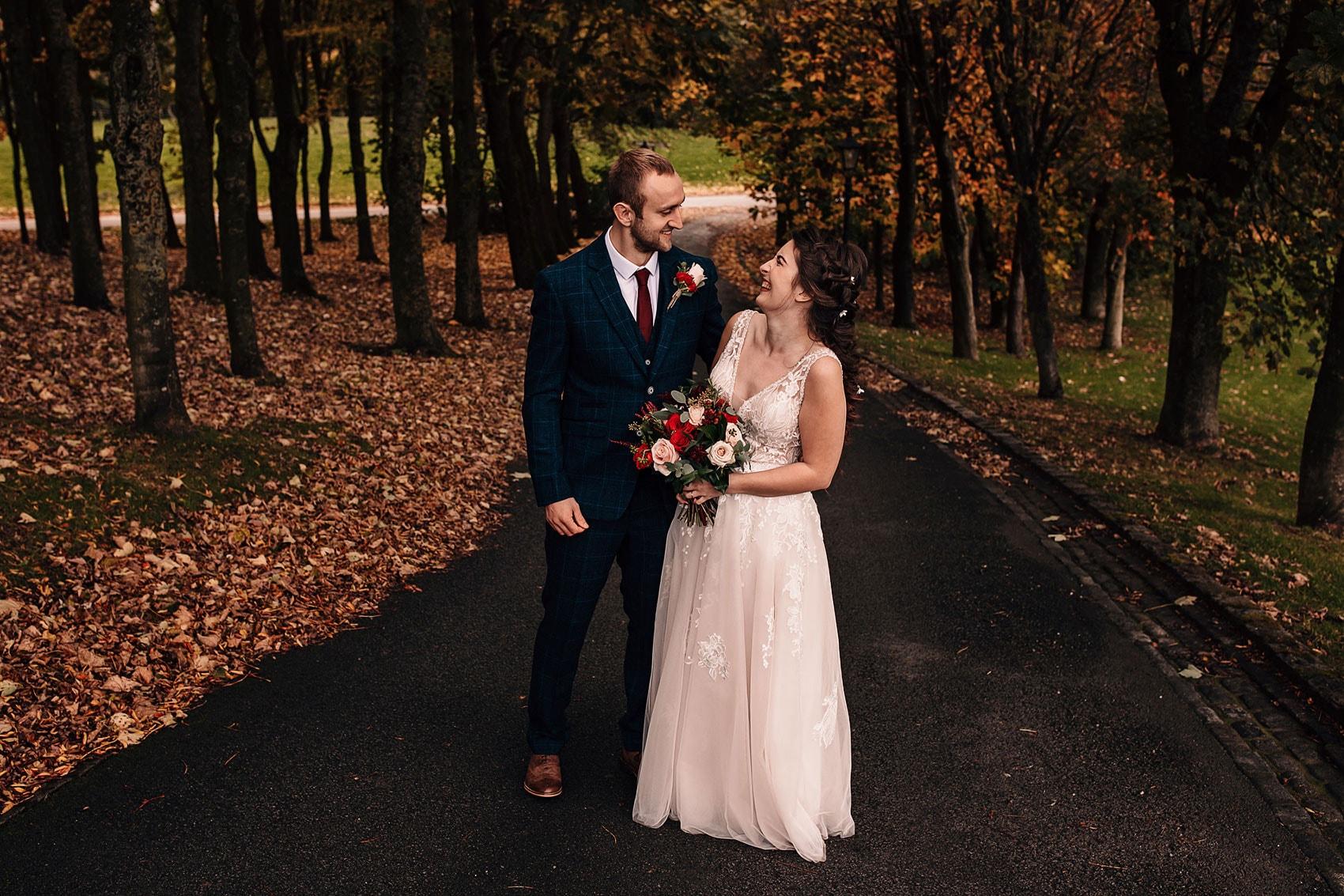 intimate wedding Tupgill Estate Yorkshire