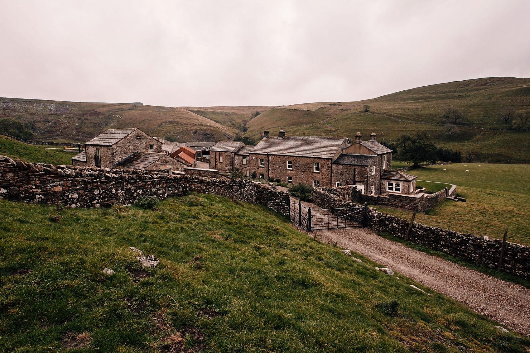 Yorkshire's best small wedding venues Telfit Farm